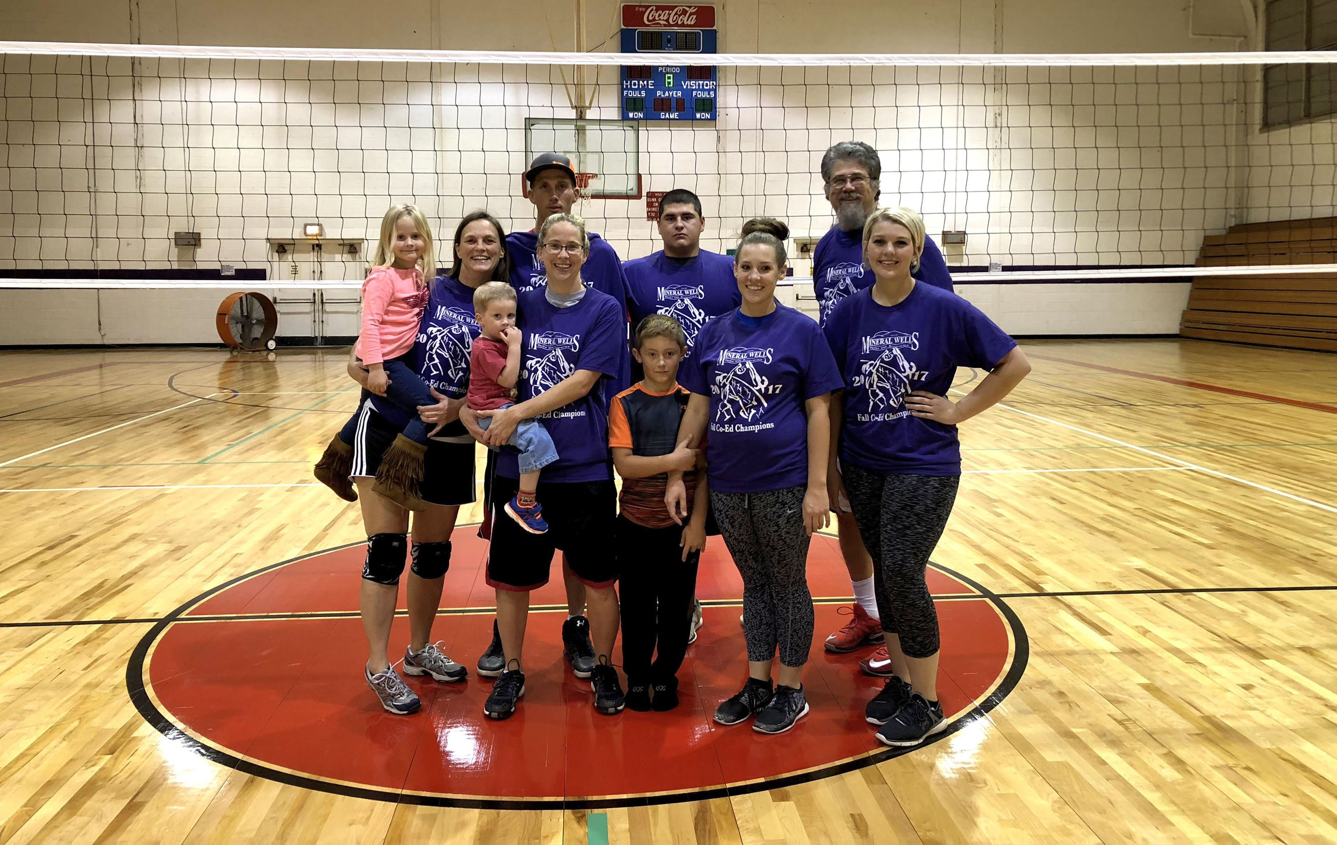 The Family Co-Ed VB Champs Fall 2017
