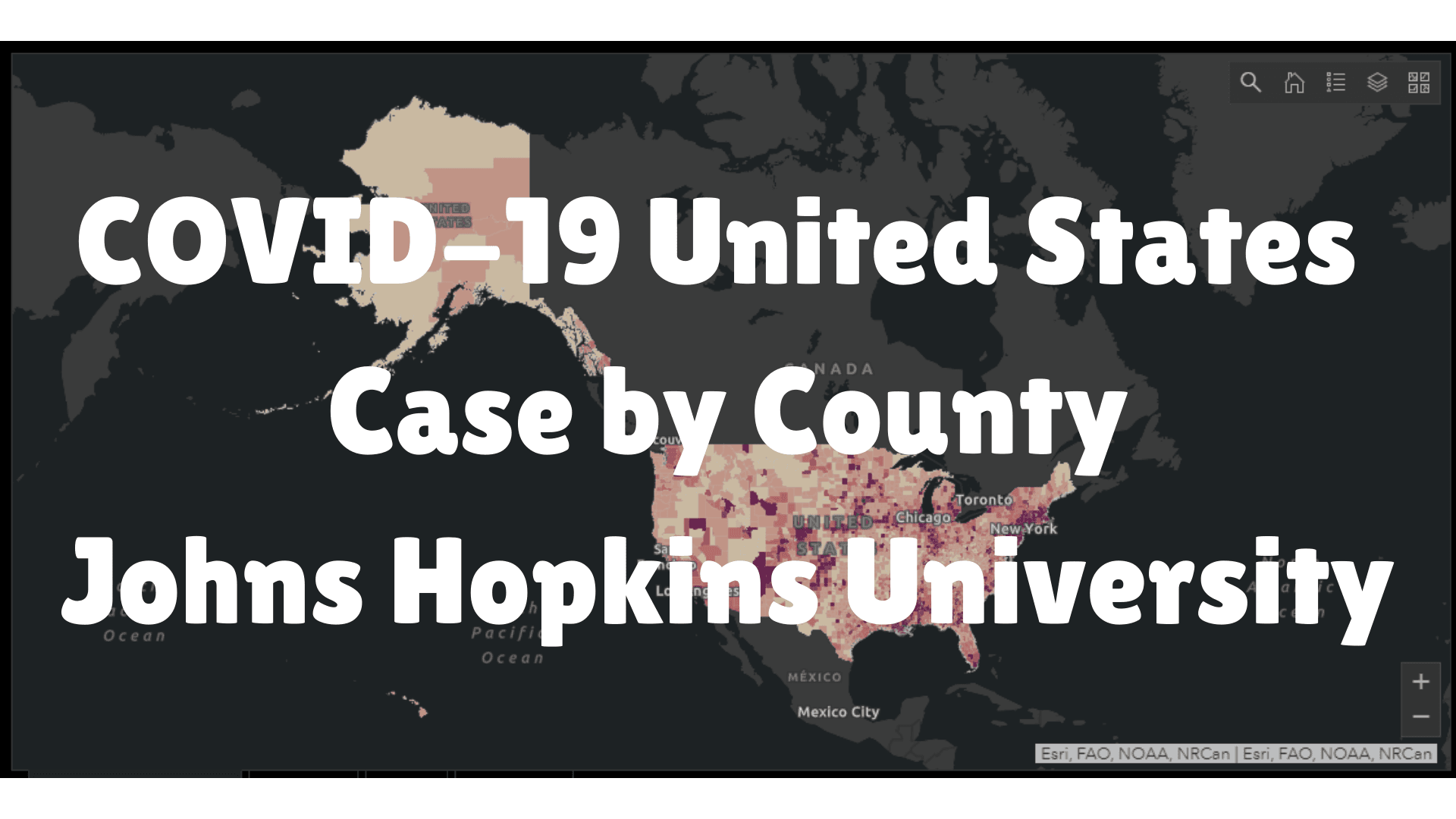 John Hopkins US Map