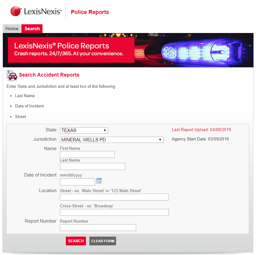 LexisNexis Search Opens in new window